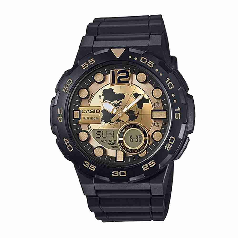Image result for Casio AEQ-100BW-9AVDF Watch