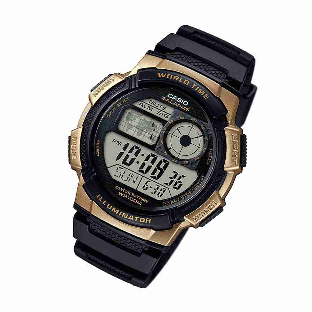 casio ae1000w1a3v youth series digital wrist watch