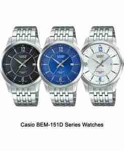 Casio-BEM-151D-Series-Watches