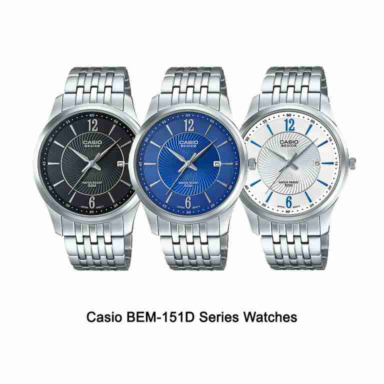 Shop for Casio BEM-151D Beside Series Stylish Wrist ...
