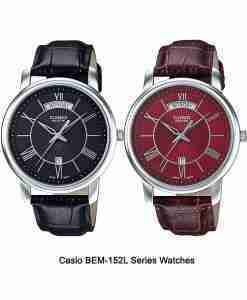 Casio-BEM-152L-Series-Watches
