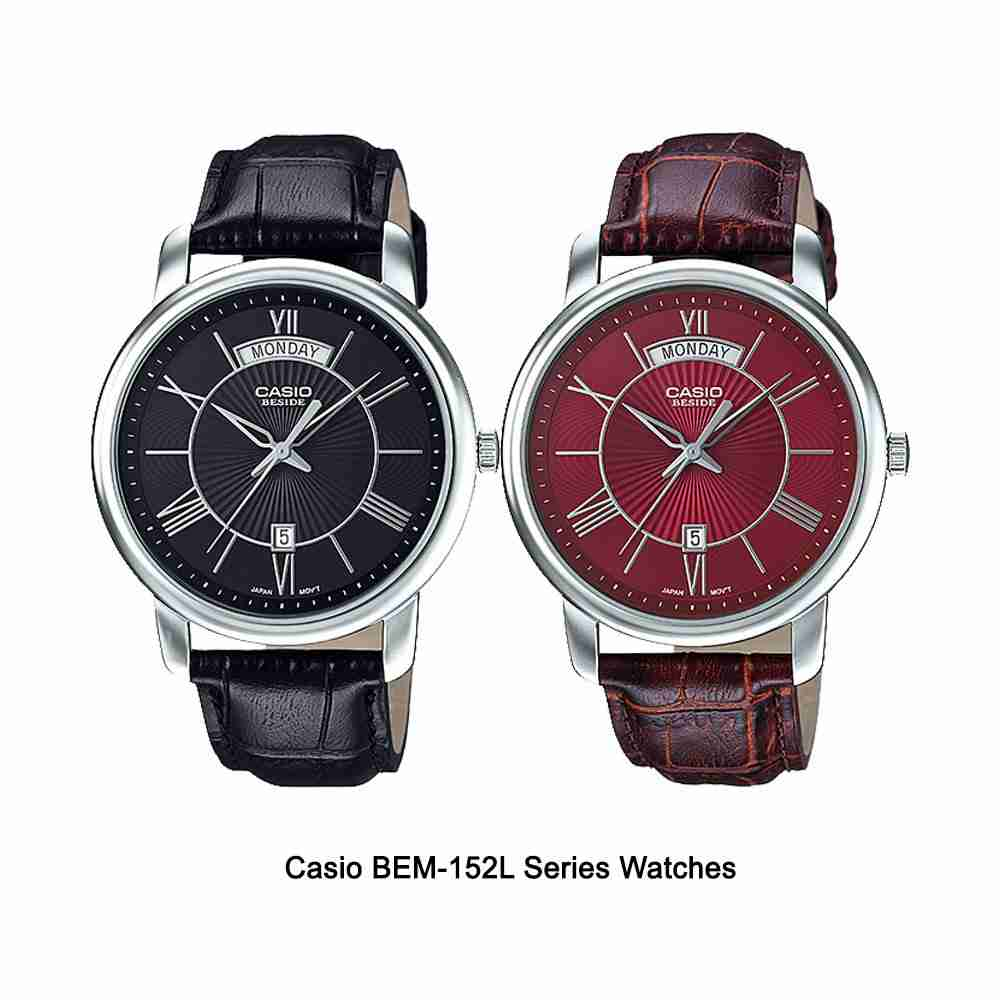 Shop for Casio BEM-152L Beside Series Stylish Wrist ...