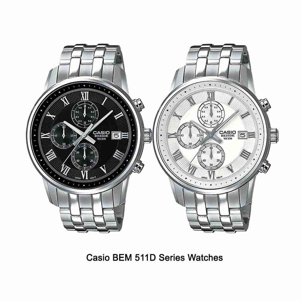Shop for Casio BEM-511D Beside Series Stylish Wrist ...