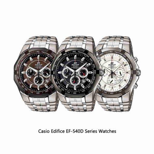 Casio-Edifice-EF-540D-Series-Watches