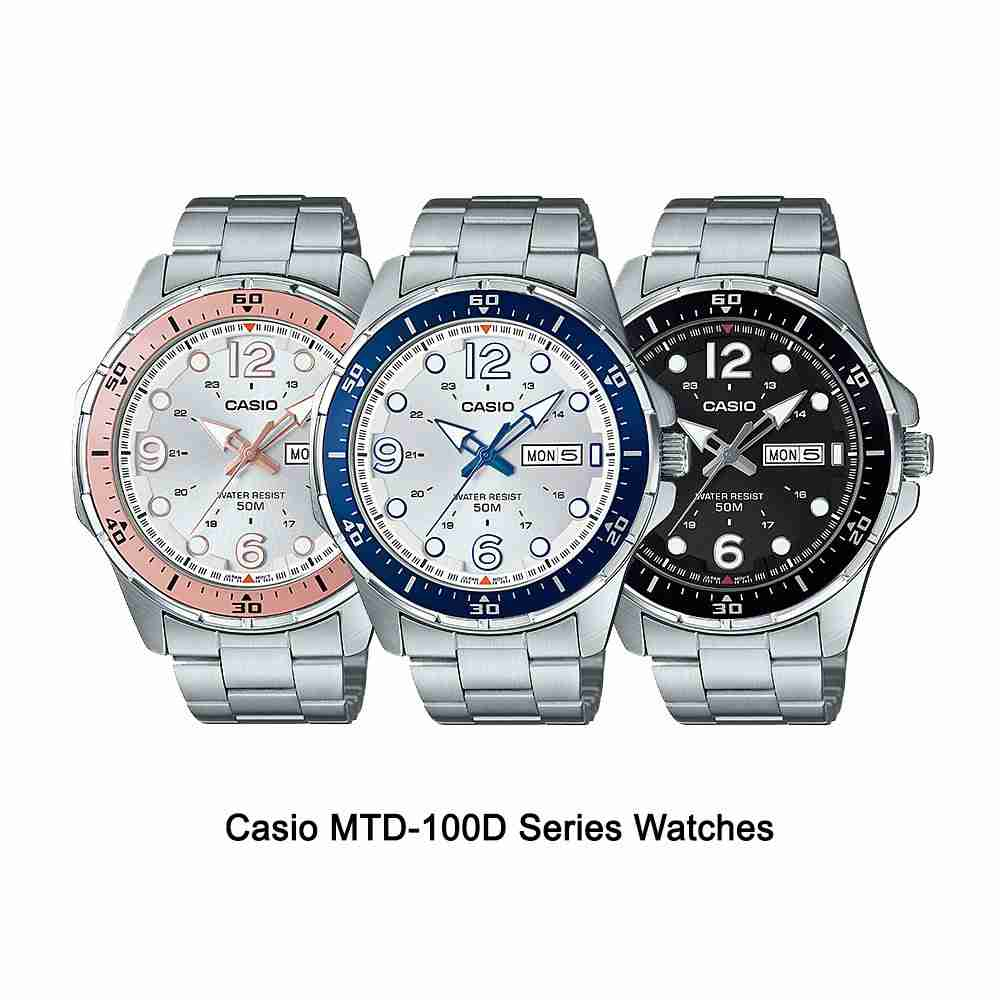 Shop for Casio Standard MTD-100D Series Wrist Watches ...