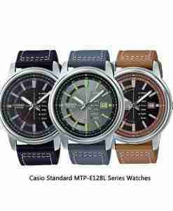 Casio-Standard-MTP-E128L-Series-Watches
