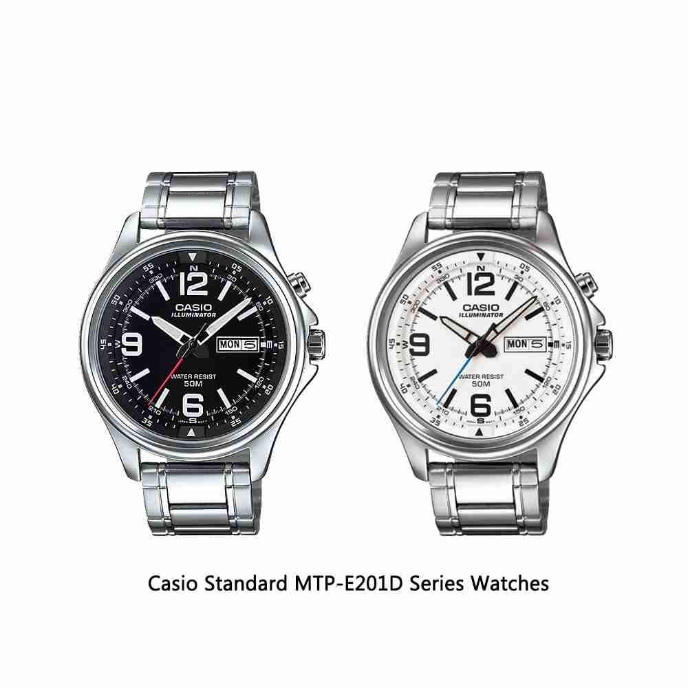 Casio Standard MTP-E201D Series Analog Men's Wrist Watches ...