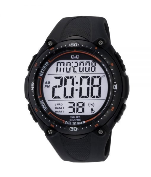 Q q by citizen m010j001 model digital wrist watch watchcentre pk for Q q watches