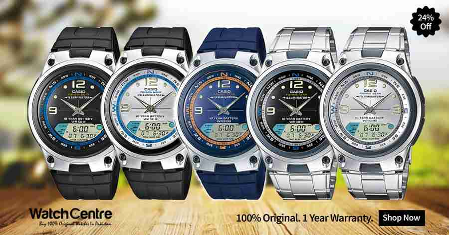 Casio AW-82 Series Banner