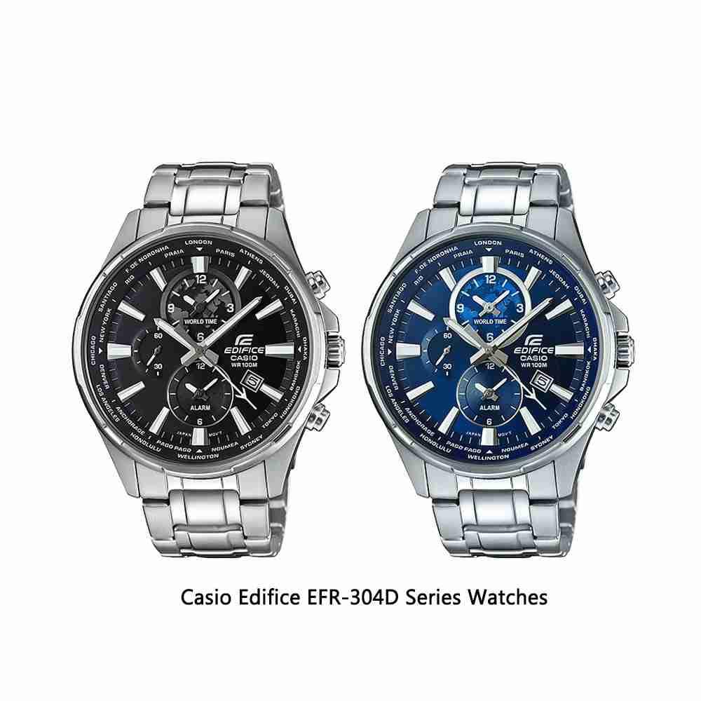 Shop for Casio Edifice EFR-304D Series Analog Men's Wrist ...