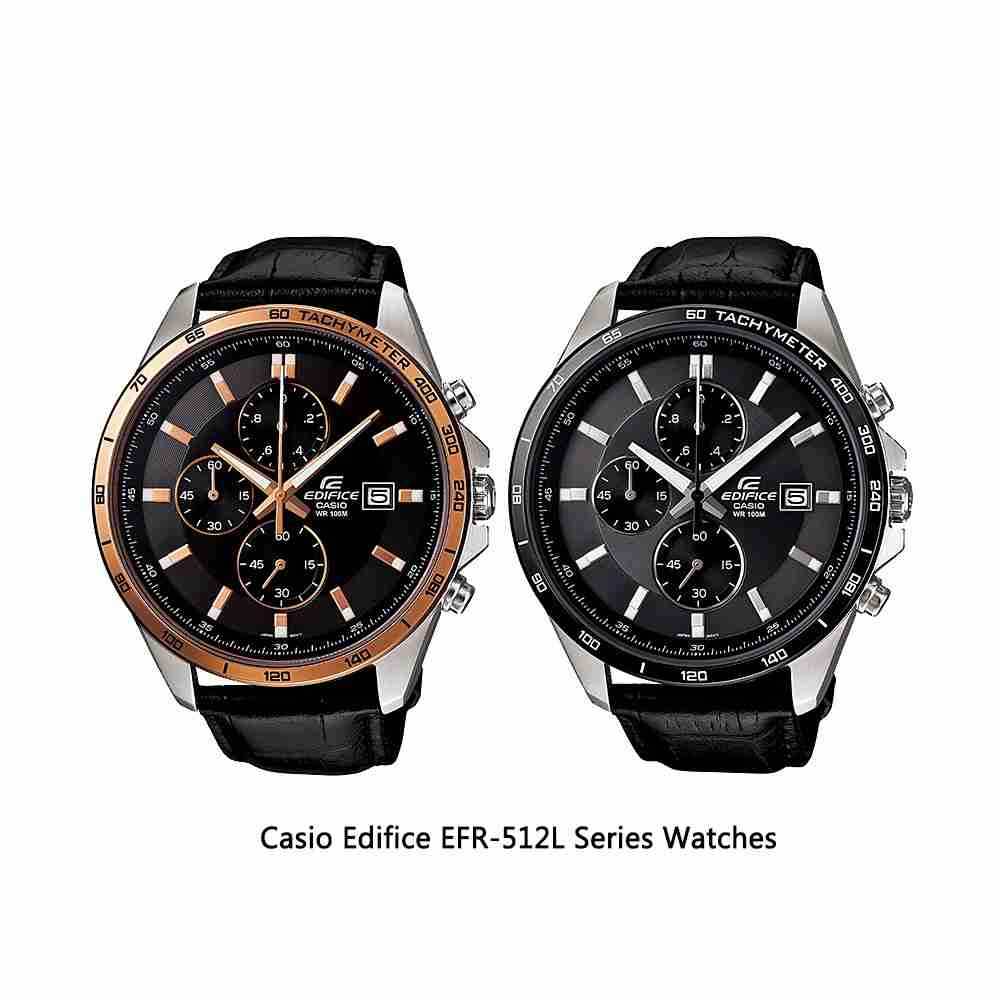 8d10ced40b5f Shop for Casio Edifice EFR-512L Series Analog Men s Wrist Watches ...