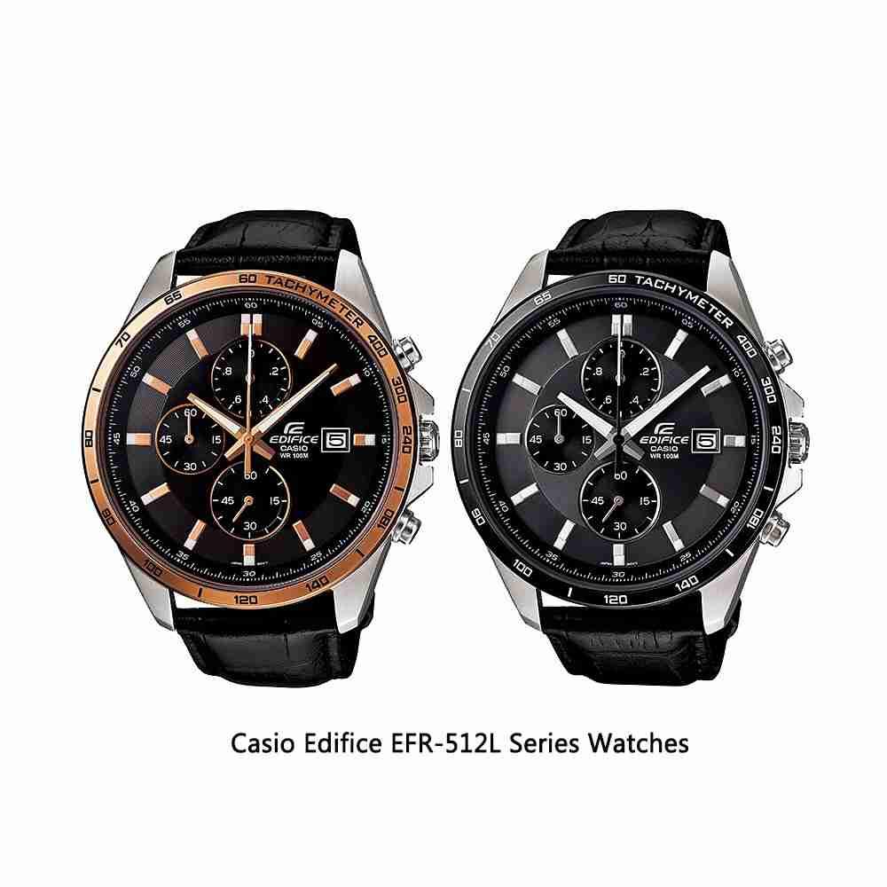 Shop for Casio Edifice EFR-512L Series Analog Men's Wrist ...