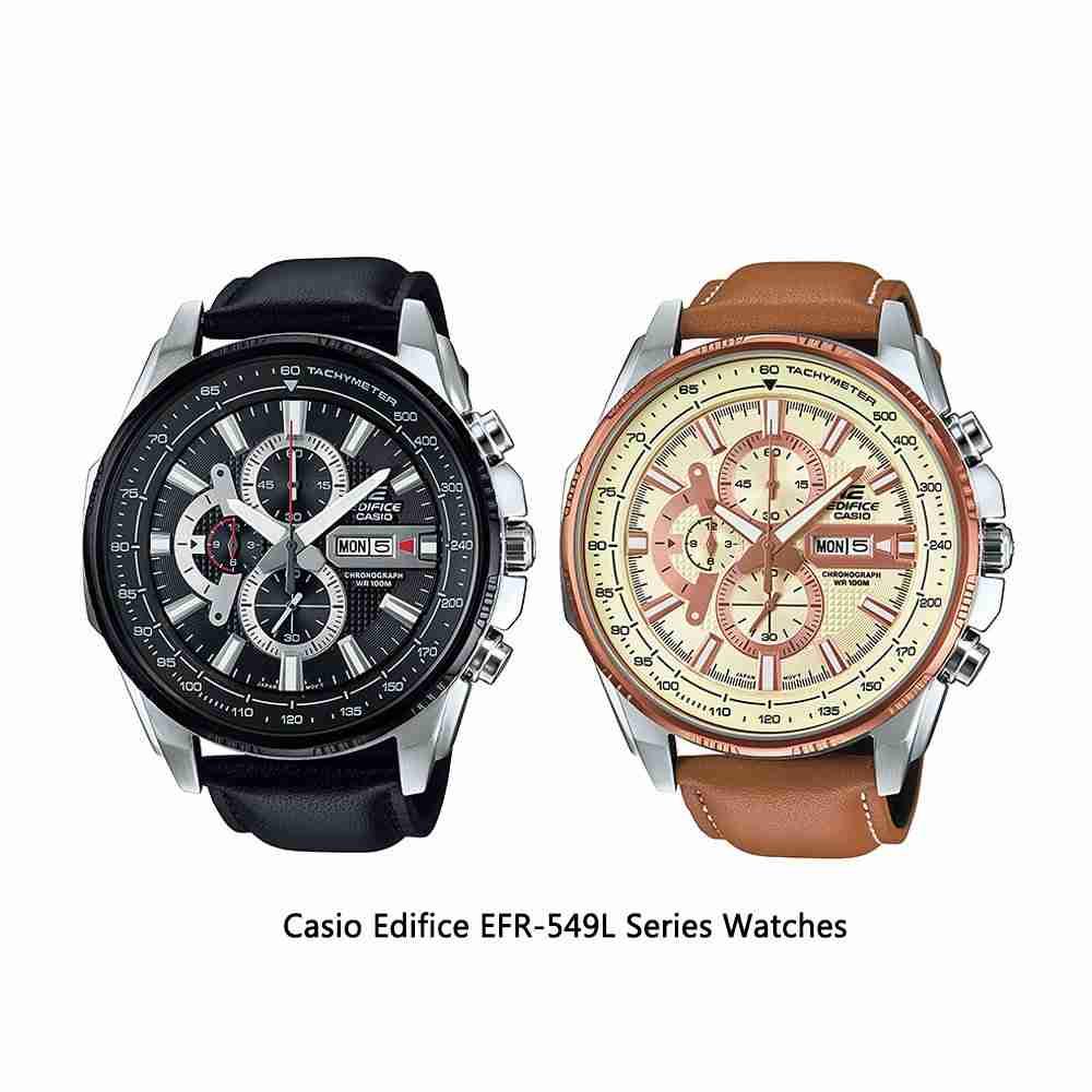Shop for Casio Edifice EFR-549L Series Men's Wrist Watches ...