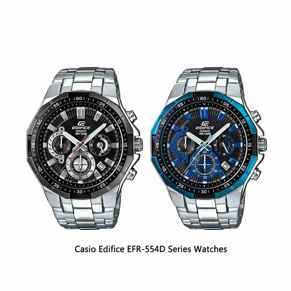 Casio Edifice Efr 554 Silver Black Page 3 Daftar Update Harga 538d 1av 554d Series Watches