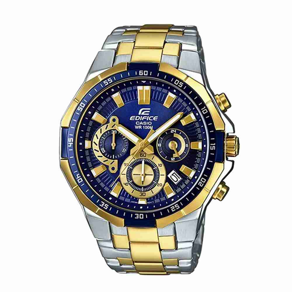 16533463e41 Shop for Casio Edifice EFR-554SG-2AV Blue Dial Analog Men s Watch ...
