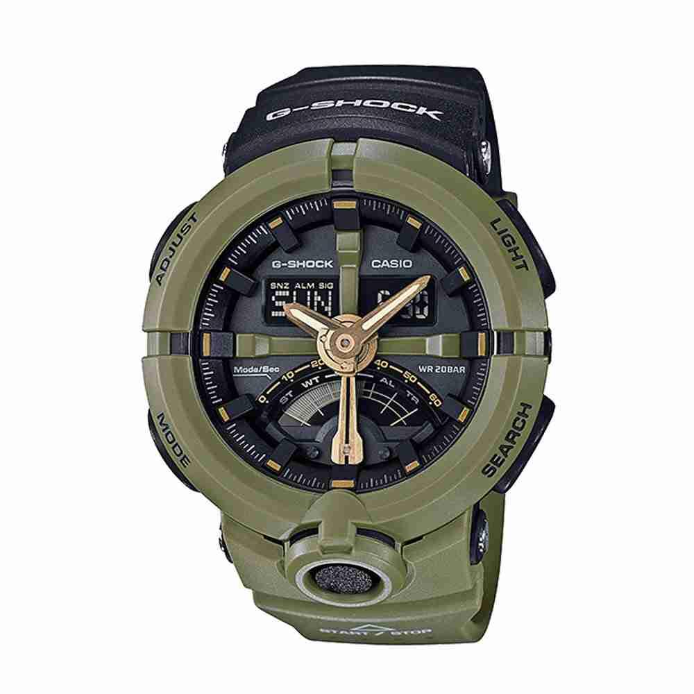 shop for casio g shock ga 500p 3adr stylish wrist watch. Black Bedroom Furniture Sets. Home Design Ideas