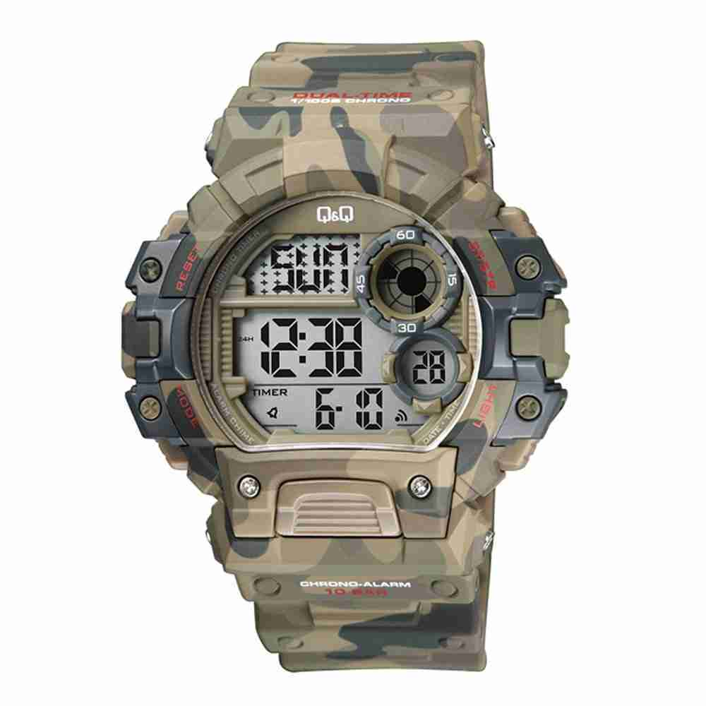Buy q q m144j005y military camouflage series watch in pakistan watchcentre pk for Q q watches