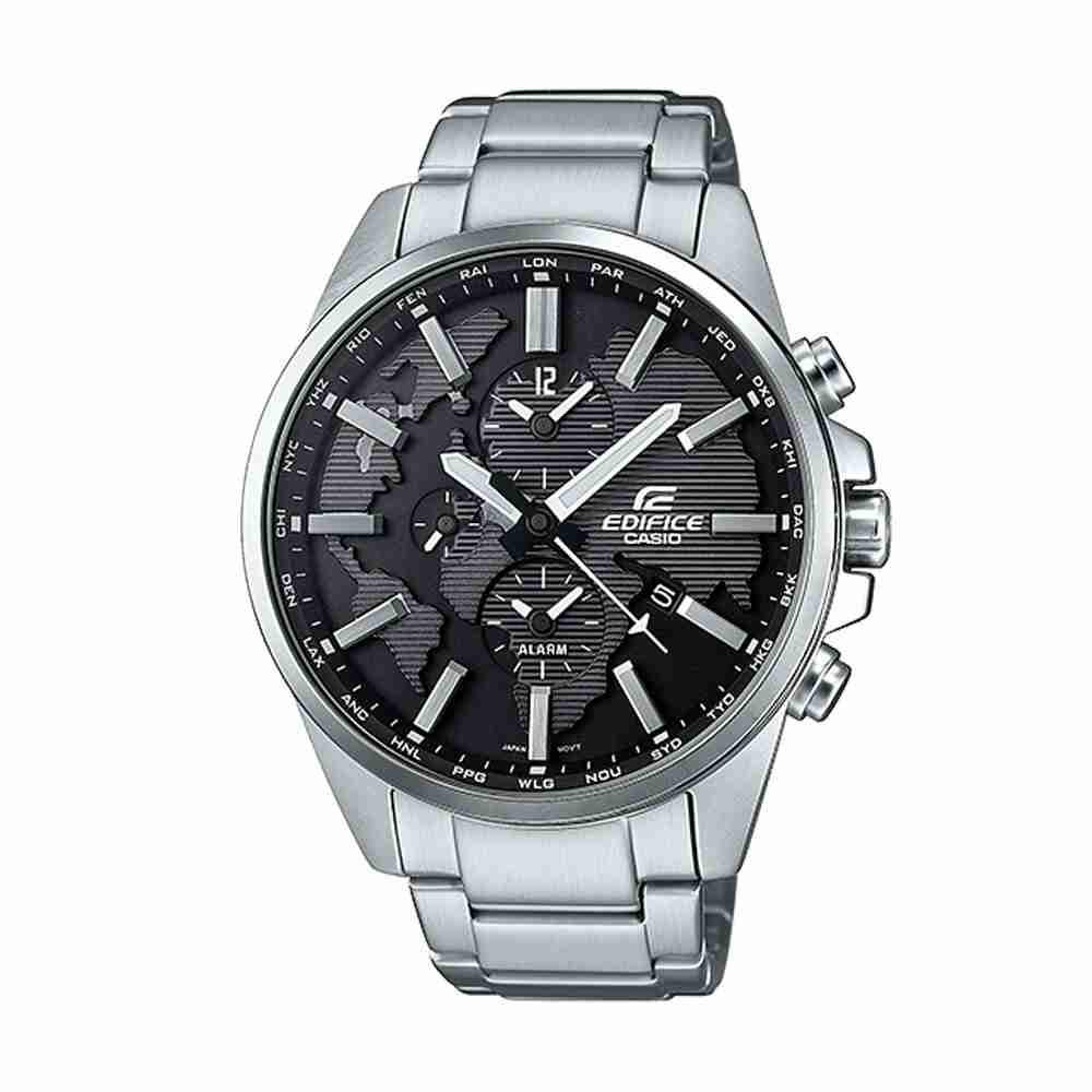 810326a07f1b Shop for Casio Edifice ETD-300D-1AVUDF Silver Strap Stylish Wrist ...