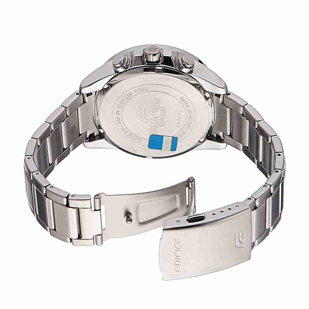 Shop For Casio Edifice Etd 300d 5avudf Silver Strap Stylish Wrist 543d Stainless Chrono Men Watch The Product Is Already In Wishlist Browse