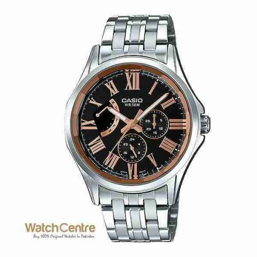 Casio Enticer Gent's MTP-E311DY-1AV Classic Stainless Steel Chronograph Men's Watch Pakistan