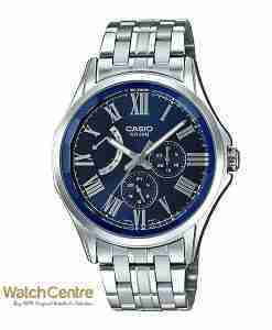 Casio Enticer Gent's MTP-E311DY-2AV Classic Stainless Steel Chronograph Men's Watch (blue dial) Pakistan