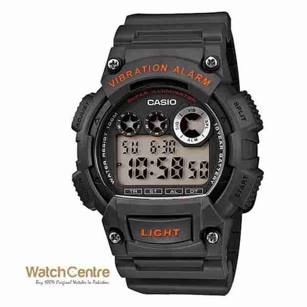 Casio W-735H-8AVDF dark grey sports digital wrist watch Pakistan
