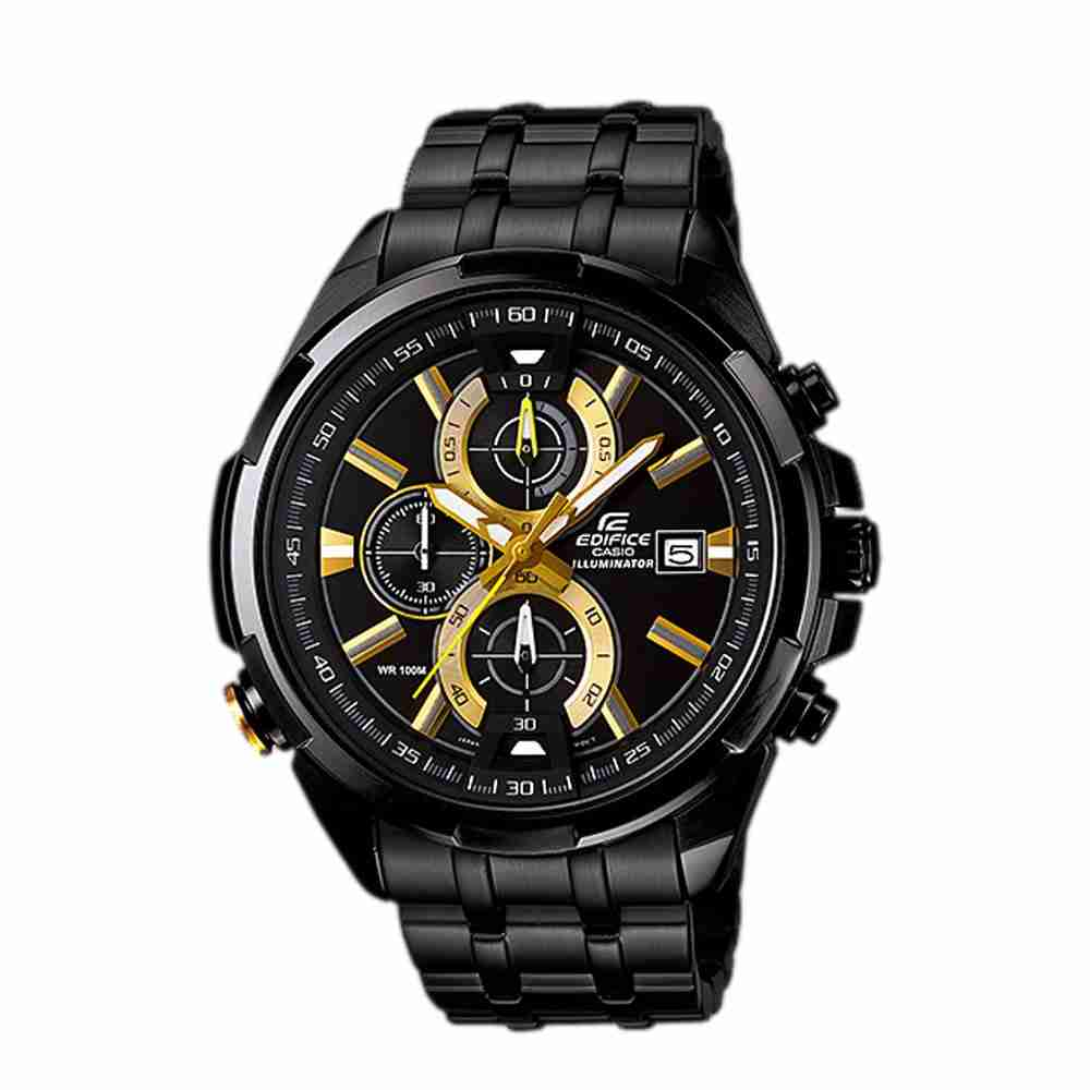 b57feb514667 Casio Men s EF305-1AV Edifice Multifunction Watch With Black Resin Band   EAW-EF-305-1AV from ProElectronics Distributing Inc.