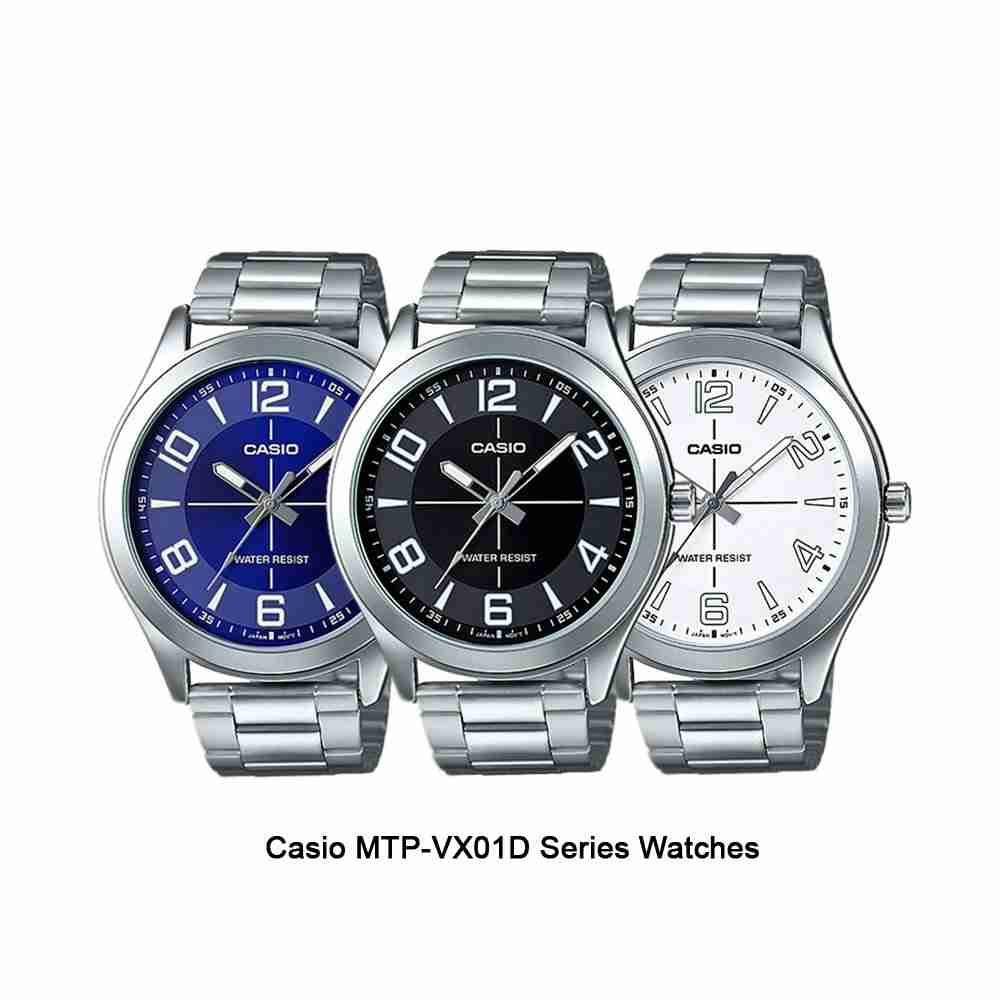 Shop for Casio MTP-VX01D Series Men's Analog Wrist Watches ...