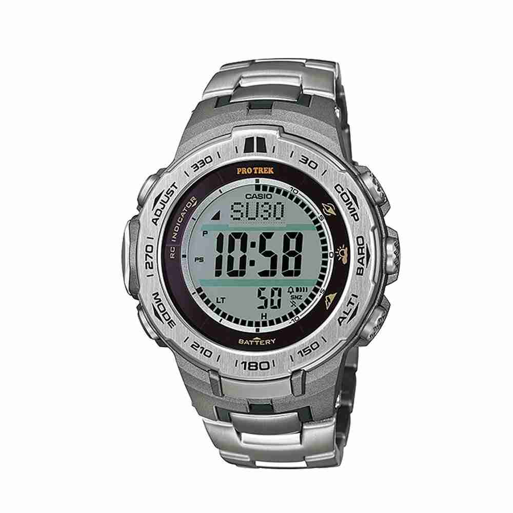 Shop for Casio Protrek PRW-3100T-7DR Triple Sensor Stylish ...