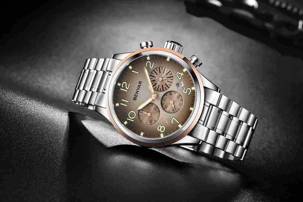 benyar-by5138-brown-chrono-watch