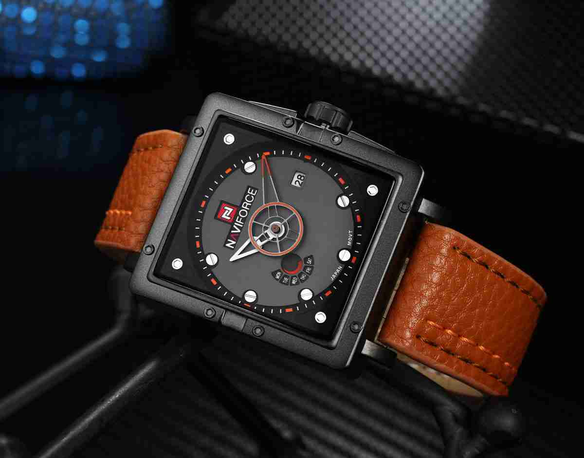 NF-9065-brown-leather-military-watch