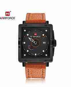 NF-9065-brown-leather-square-military-watch