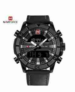 NF-9114-black-leather-dual-time