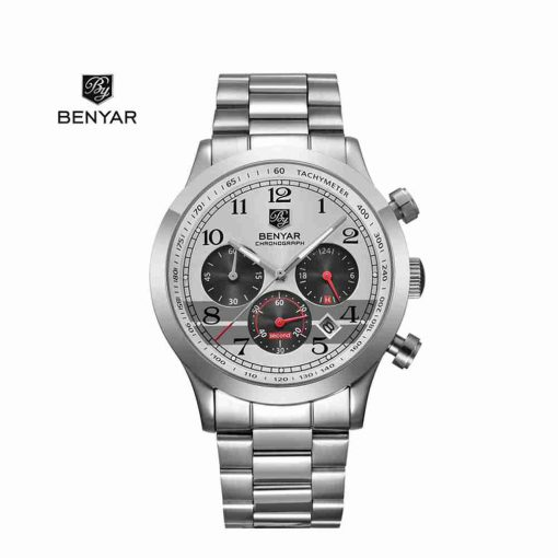 benyar-by-5133-chain-chrono-silver-wc