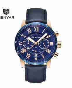 benyar-by-5139-roman-chrono-leather-blue-wc