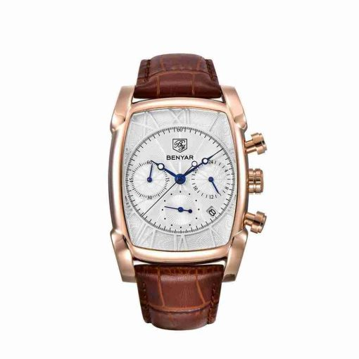 benyar-by5113-square-chrono-leather-gold-wc