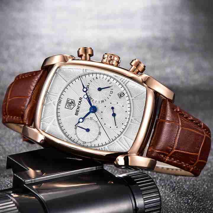 benyar-by5113-square-chrono-leather
