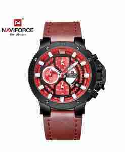 naviforce-nf9159-red-chronograph-watch