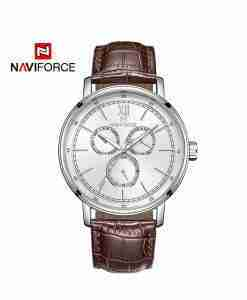 nf-3002-brown-leather-silver-chronograph-wc