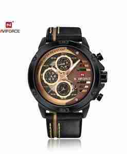 nf-9110-black-golden-chrono-leather-wc