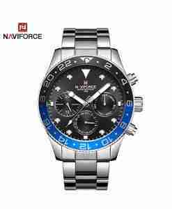 nf-9147-black-chrono-silver-chain-wc