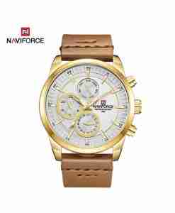 nf-9148-brown-golden-leather-chrono-wc