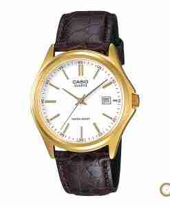 Casio Enticer MTP-1183Q-7A men's slim dial leather gift watch in Pakistan