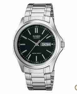 Casio MTP-1239D-7A men's silver stainless steel wrist watch in Pakistan for small to average wrist