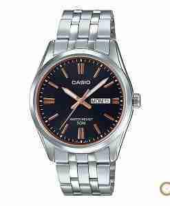 Casio MTP-1335D-1A2V men's classic black stainless steel wrist watch in Pakistan