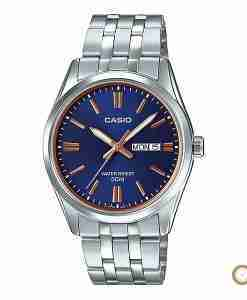 Casio MTP-1335D-2A2V men's classic blue stainless steel wrist watch in Pakistan