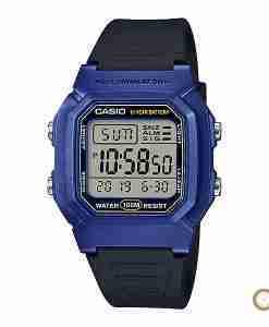 Casio W-800HM-2AV blue digital youth wrist watch in Pakistan with 10 years battery life
