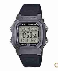 Casio W-800HM-7AV silver digital youth wrist watch in Pakistan with 10 years battery life