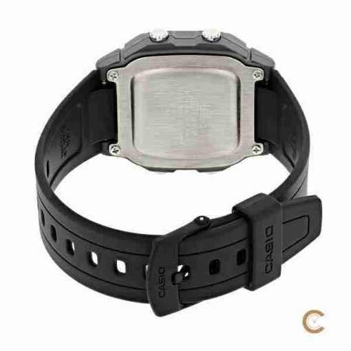 Casio W-800HM-7AV youth digital watch backside picture