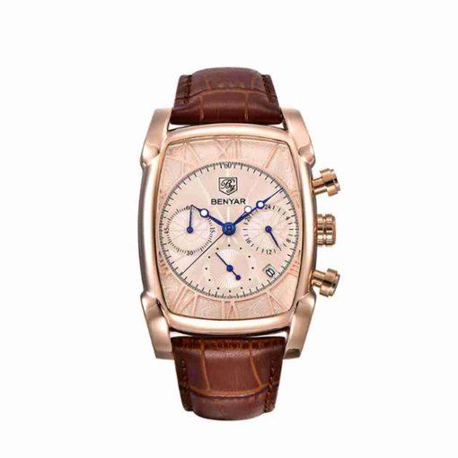 benyar-by-5113-Rosegold-square-chronograph